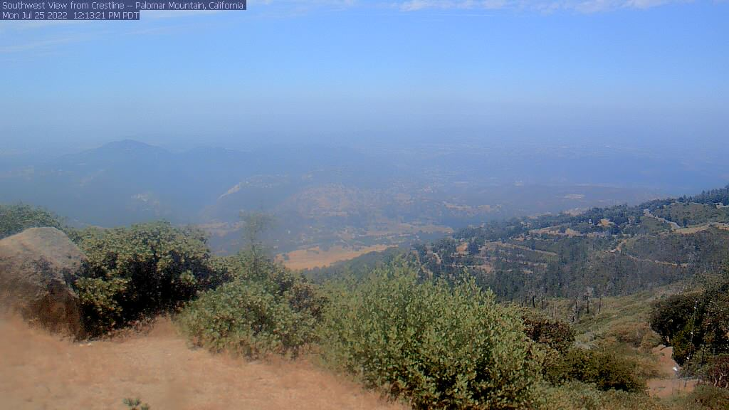 Palomar Mountain webcam